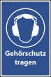 Arbeitsschutz #Schild -503#- Gehörschutz