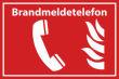 Arbeitsschutz #Schild -508#- Brandmeldetelefon