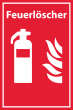 Arbeitsschutz #Schild -511#- Feuerlöscher