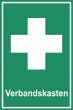 Arbeitsschutz #Schild -516#- Verbandskasten