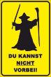 Ein- Ausfahrt Schild Schilder -141#- Gandalf