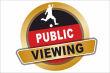 Gastronomie Public Viewing #Schild -164#- Button