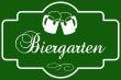 Gastronomie Public Viewing #Schild -173#- Grün mit Kruegen