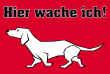 Hundeschild# -711#- Waldi