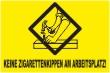 Keine Kippen wegwerfen #Schild -243#- Arbeitsplatz