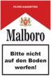 Keine Kippen wegwerfen #Schild -246#- Zigarettenschachtel