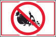 Müll abladen verboten #Schild -188#- Kein Müll
