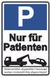 Parkverbot #Parken verboten Schild Schilder -44#- Nur für Patienten