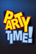 Party #Schild -224#- Party Time