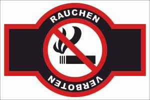 Rauchen verboten Schild Schilder Rauchen verboten Emblem Rechnungskauf ohne Shop-Login rauc-93-