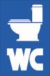 WC / Toiletten #Schild -104#- Toilettenschüssel