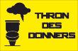 WC / Toiletten #Schild -108#- Thron des Donners