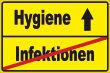 WC / Toiletten #Schild -114#- Hygiene Stadtschild
