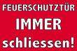 Tür / Tor #Schild -1562#- Feuerschutz