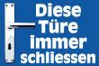 Tür / Tor #Schild -1567#- Tuerklinke