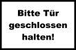 Tür / Tor #Schild -1570#- Tür weiss