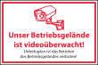 Videoüberwachung #Schild -61#- Kein Zutritt