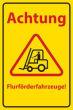 Arbeitsschutz #Schild 506 Flurförderfahrzeuge