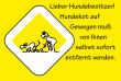 Hundeschild# -17#- Hundekot selbst entfernen