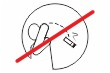 Keine Kippen wegwerfen #Schild -241#- Symbol 1