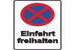 Parkverbot #Parken verboten Schild Schilder -28#- Einfahrt freihalten