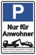 Parkverbot #Parken verboten Schild Schilder -43#- Nur für Anwohner