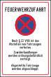 Parkverbot #Parken verboten Schild Schilder -52#- Feuerwehrzufahrt
