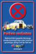 Parkverbot #Parken verboten Schild Schilder -53#- Sonst Ebay!