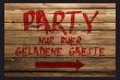 Party #Schild -223#- Party Gaeste