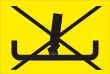 Rauchen verboten #Schild -82#- Zigarette in Ascher