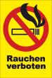 Rauchen verboten #Schild -85#- Verbots-Kreis Hochformat