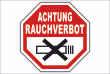 Rauchen verboten #Schild -90#- Achtung Rauchverbot