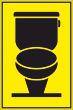 WC / Toiletten #Schild -107#- WC Symbol